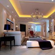 客厅地板砖装修设计