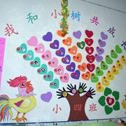 幼儿园爱心墙面贴纸