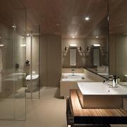 简约风格浴室地砖设计