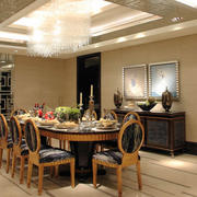 现代简约风格室内餐厅装饰