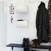 小户型玄关衣架装饰