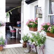 小户型北欧风格阳台装饰