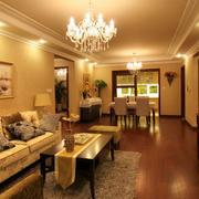 欧式简约风格室内客厅装饰