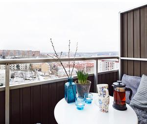 北欧风格小户型阳台装饰