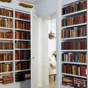 房屋大型书房隐形门