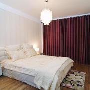 2层房简约欧式窗帘设计