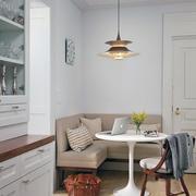 欧式简约房屋2层简约客厅原木沙发