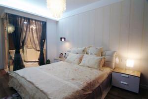 2层房简约田园欧式卧室设计