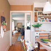 简约暖色客厅家居设计