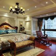 美式风格室内卧室灯饰