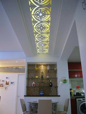 现代大户型走廊吊顶装修效果图