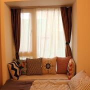 暖色调卧室装修图片