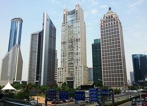 市区中高大上办公楼设计效果图
