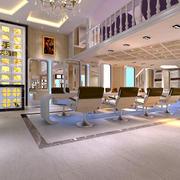 美发店地板砖设计