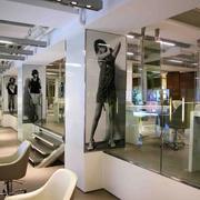 美发店玄关设计图片