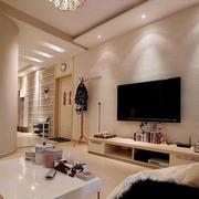 精致型电视背景墙