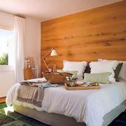 日式精简型客厅卧室衔接
