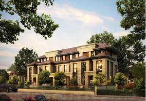 都市高级联排别墅装修设计效果图