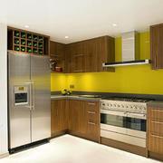厨房深色系橱柜