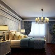美式简约风格室内卧室墙饰装饰