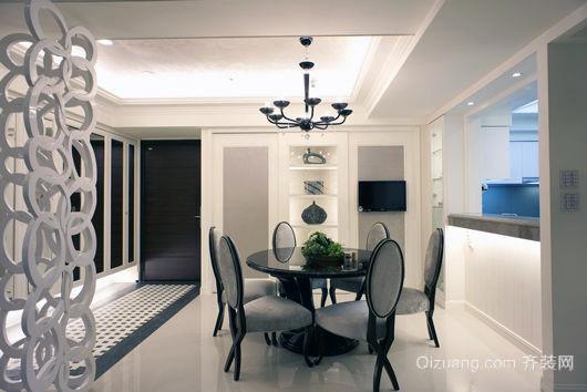47平米欧式现代化简约线条客厅装修图例
