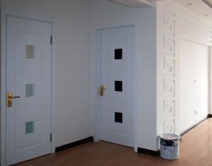 复式楼简约门设计