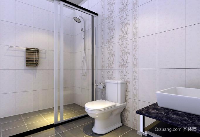 打造经典:简约型卫生间装修效果图