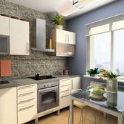 厨房文化砖展示