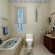简欧风格卫生间浴缸设计