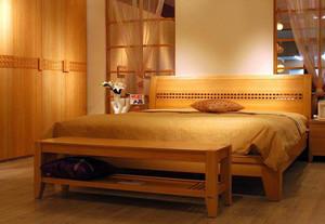 中式简约风格原木实木家具装修效果图