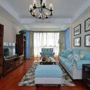 现代新中式简约客厅沙发