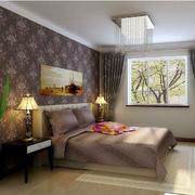 家居卧室浅紫色设计
