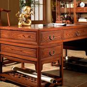 书柜整体原木家具设计