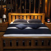 简约风格原木卧室家具装饰