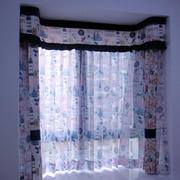 怡情系列飘窗窗帘图片
