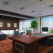 办公室吊顶造型图