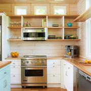 温馨浅色系的厨房