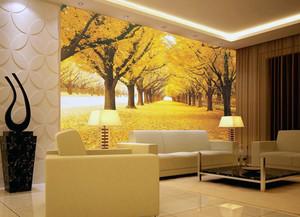 大户型客厅实木沙发背景墙装修效果图