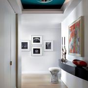 大气简约客厅创新型吊灯设计