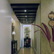 暖色调走廊设计图