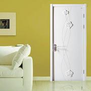 欧式简约带花纹门设计