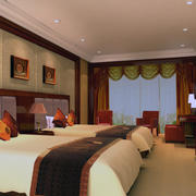 暖色调卧室设计图