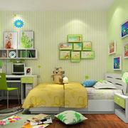 绿色清新儿童房