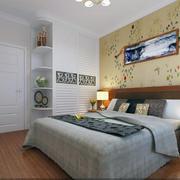 别墅田园优雅型客厅背景墙