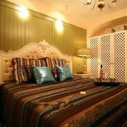 暖色系地中海风格卧室装饰
