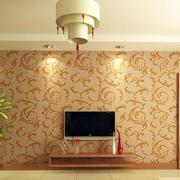 温馨系列硅藻泥电视墙