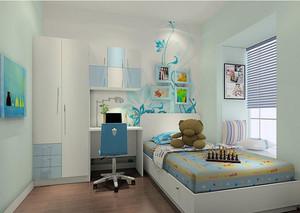 充满童趣的儿童卧室装修效果图