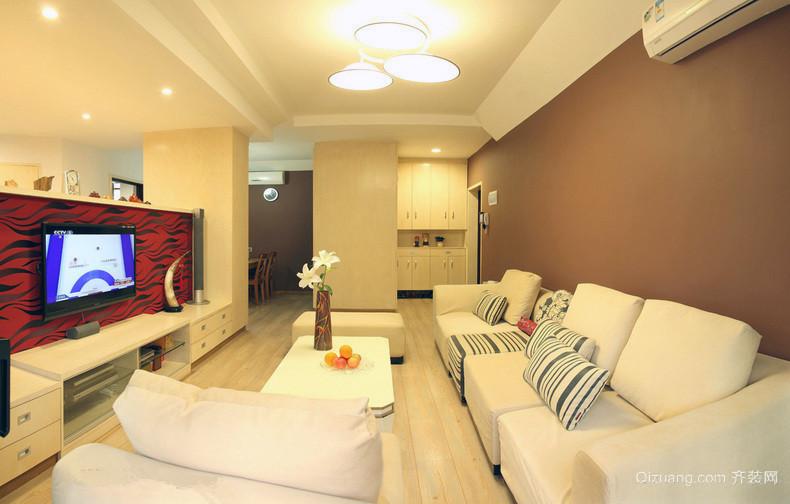 小公寓复式简居三室一厅装修设计图
