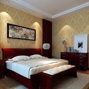 卧室金色液体壁纸