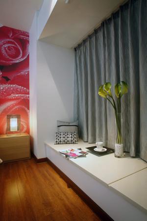 98平米简单优雅小户型公寓装修图例